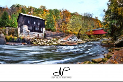 Mcconnells mill state park panoramic