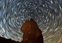 star trail in utah