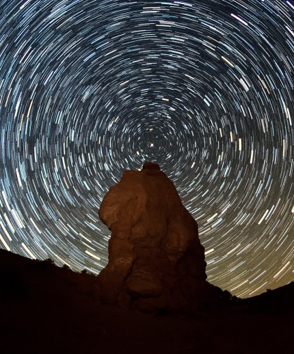 star trail in utah