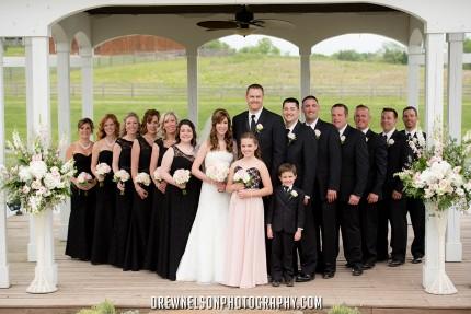 lingrow farm wedding party