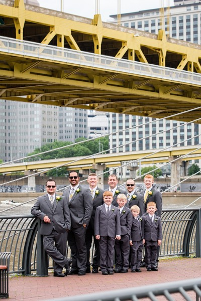 north shore pittsburgh groomsmen