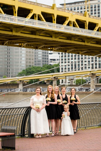 north shore pittsburgh bridesmaids